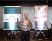 Apresentação dos resultados na AGO pelo Sr. Julinho Tonus, Diretor Presidente da Coopertradição
