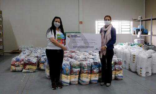 """Sucesso: Campanha """"Uma saca por uma cesta"""" arrecada cerca de R$ 130 mil revertidos em doações"""