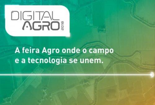 Digital Agro apresenta temas que conectam o campo