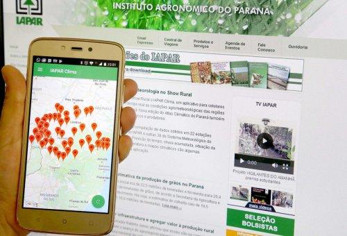 Iapar lança aplicativo de agrometeorologia no Show Rural